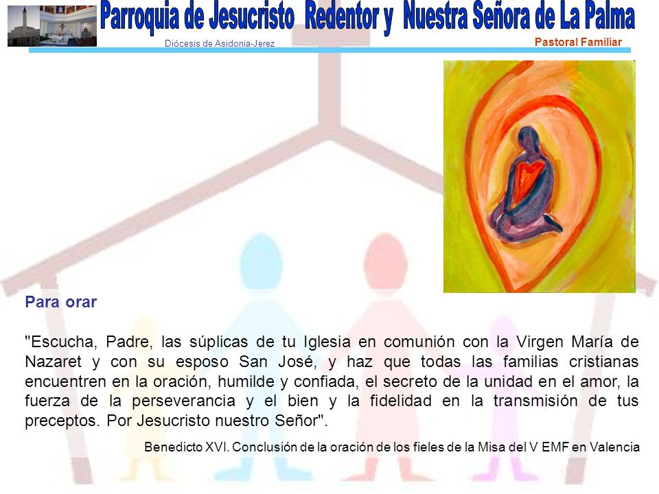 Diócesis de Asidonia-Jerez Pastoral Familiar Para orar
