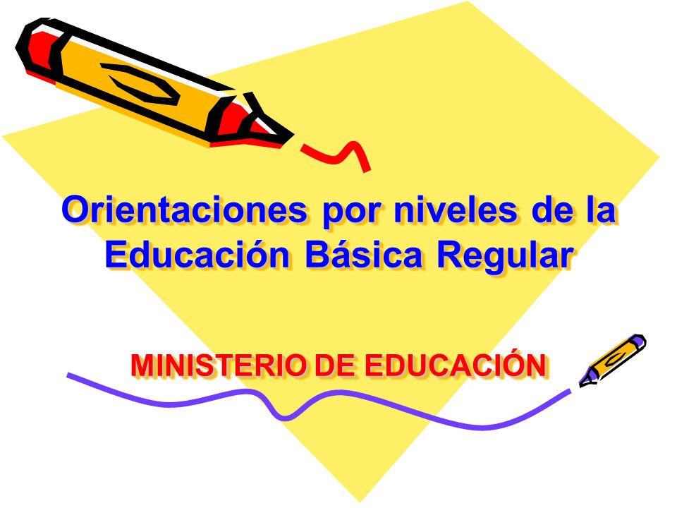 EDUCACIÓN INICIAL Orientaciones Generales: Integrar las estrategias del plan lector en la programación curricular.