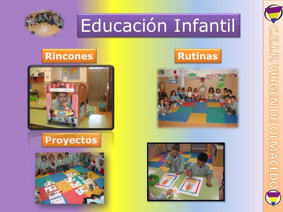 Educación Infantil Rincones Proyectos Rutinas