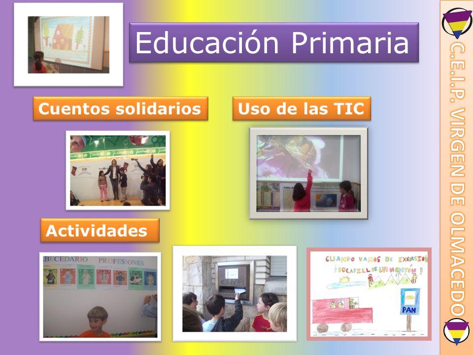 Educación Primaria Cuentos solidarios Uso de las TIC Actividades
