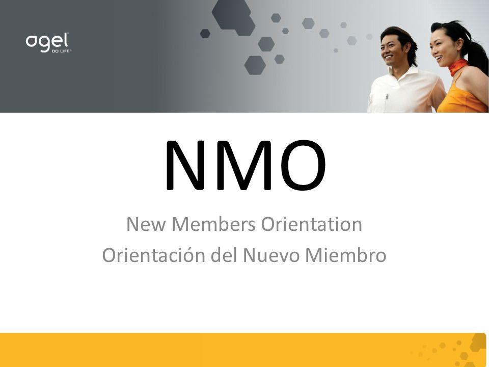 NMO New Members Orientation Orientación del Nuevo Miembro