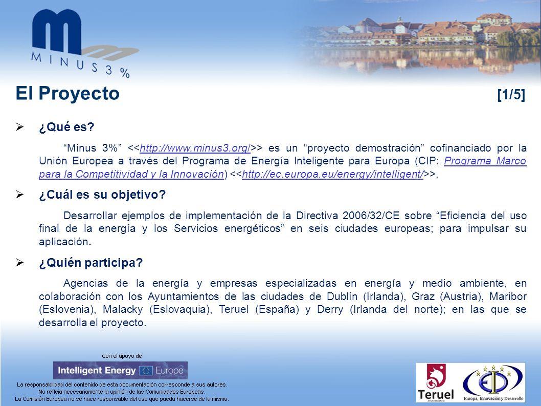 La Directiva 2006/32/CE de Eficiencia Energética [6/8] Capítulo I: OBJETO Y ÁMBITO DE APLICACIÓN Art.