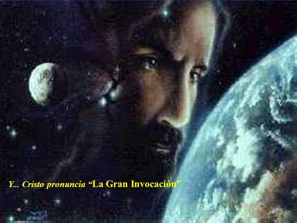 Desde el punto de Luz en la Mente de Dios, Que afluya Luz a las mentes de los hombres; Que la Luz descienda a la Tierra.