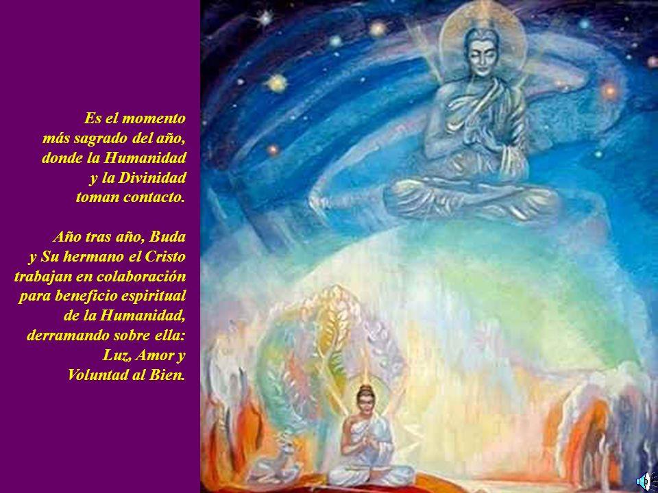 Es el momento más sagrado del año, donde la Humanidad y la Divinidad toman contacto.