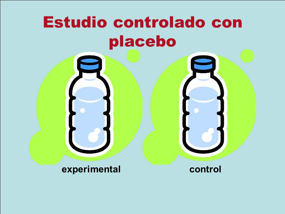 Estudio controlado con placebo experimentalcontrol