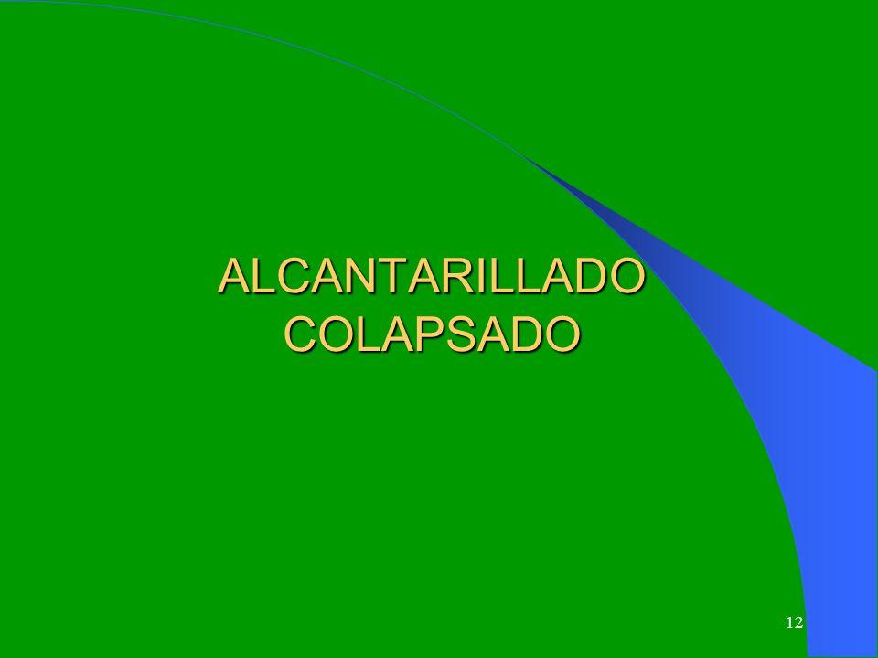 12 ALCANTARILLADO COLAPSADO