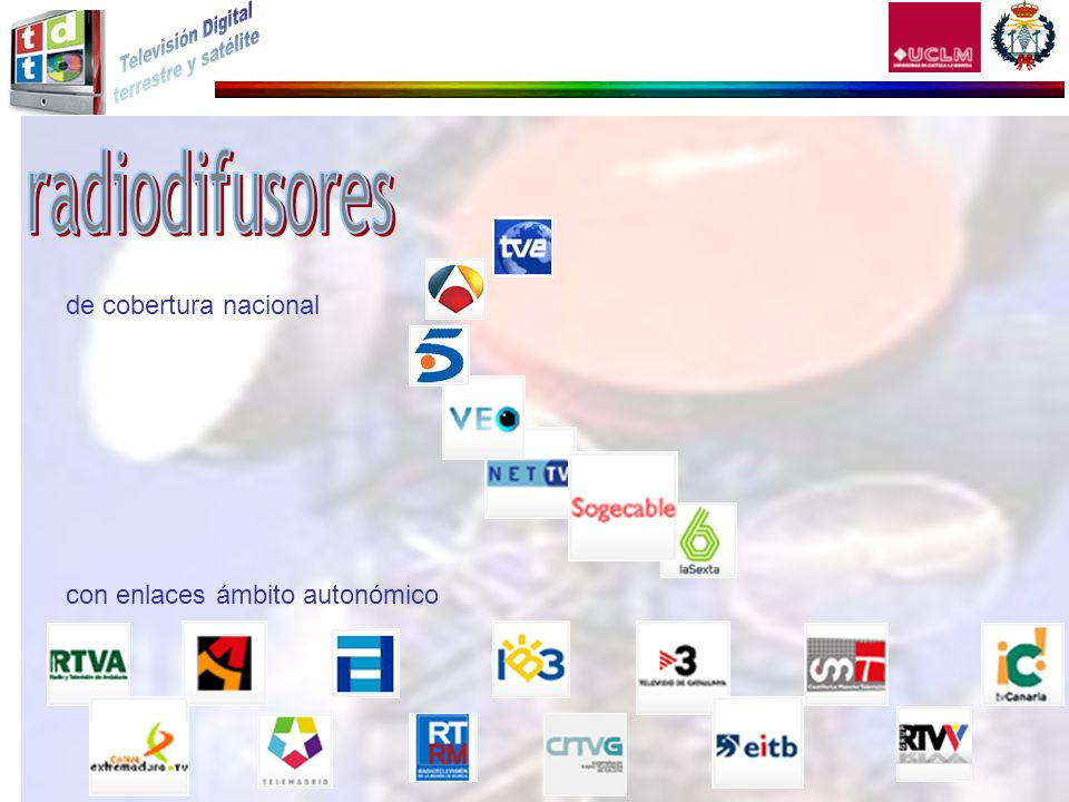 de cobertura nacional con enlaces ámbito autonómico