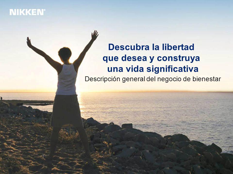 Descubra la libertad que desea y construya una vida significativa Descripción general del negocio de bienestar
