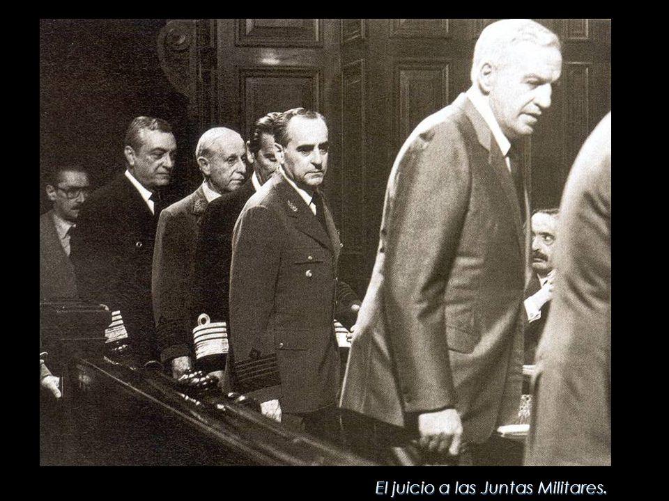 El juicio a las Juntas Militares.