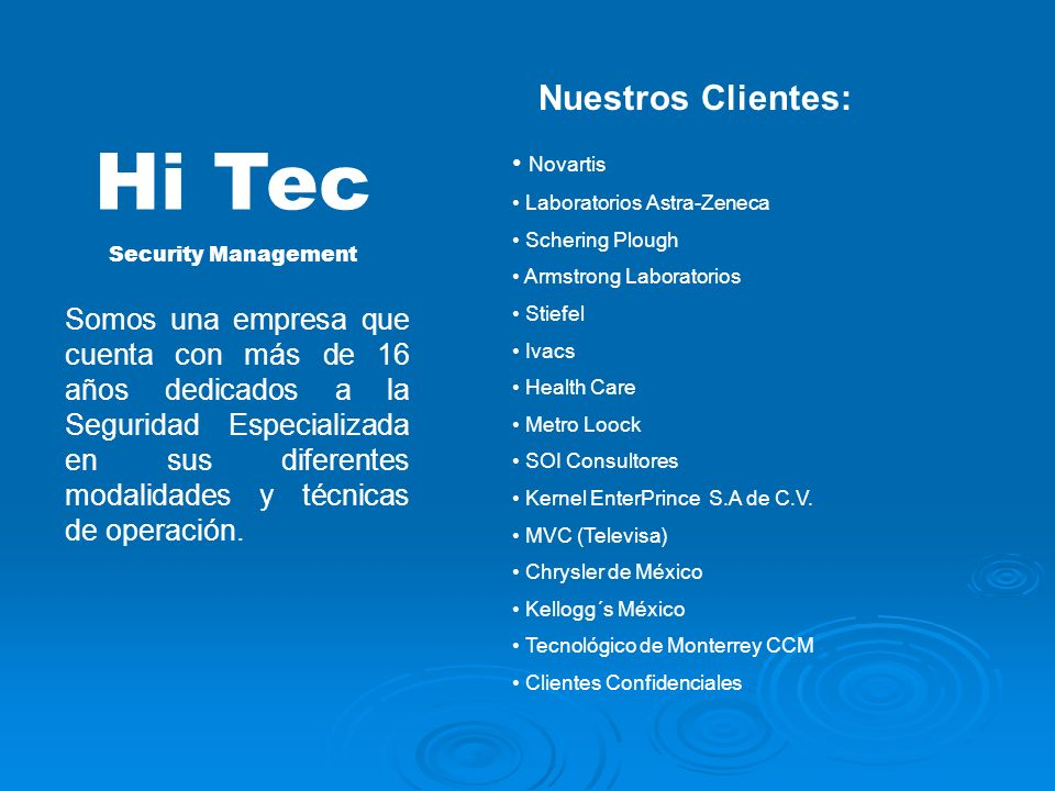 Quienes somos: Nuestra Estructura: Consejo de Administración Presidente Vicepresidente Director General Jefes Operativos Personal Operativo Nuestros C