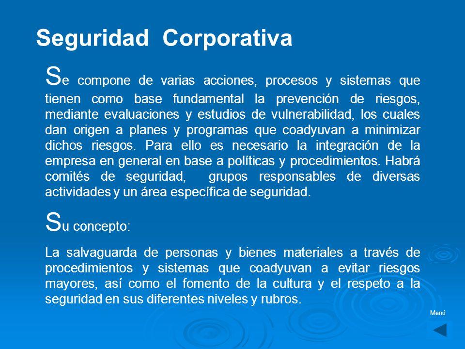 Elija alguna opción Seguridad CorporativaSeguridad Corporativa Seguridad EmpresarialSeguridad EjecutivaSeguridad y VigilanciaSeguridad Industrial Prot
