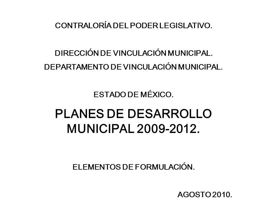 CONTRALORÍA DEL PODER LEGISLATIVO.DIRECCIÓN DE VINCULACIÓN MUNICIPAL.