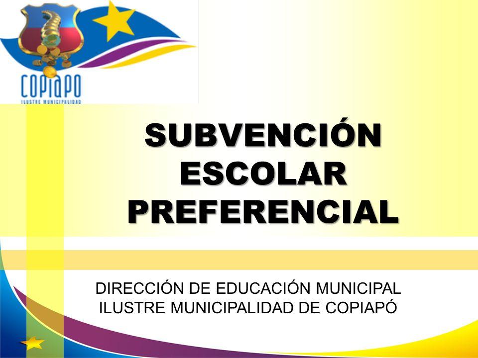 Diferenciación de Escuelas: Compromisos Asumidos Autónomas: –Normas generales –Convenio base.