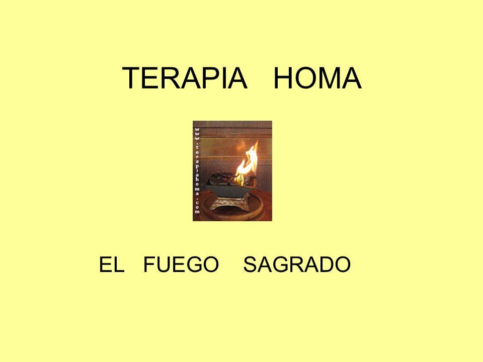 TERAPIA HOMA EL FUEGO SAGRADO