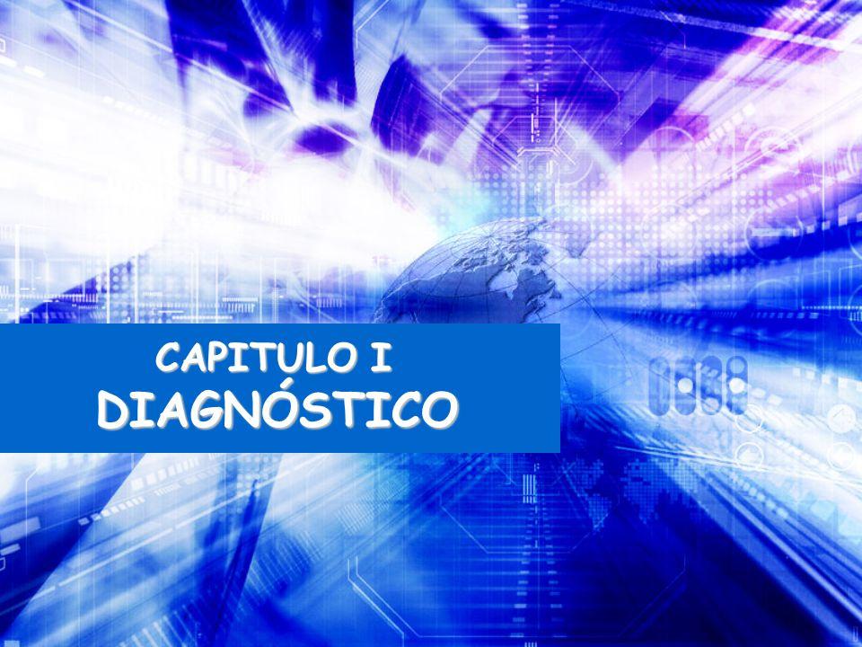 CAPITULO I DIAGNÓSTICO DIAGNÓSTICO