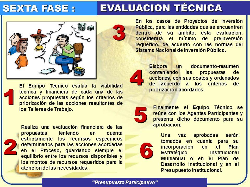 QUINTA FASE : DESARROLLO DE LOS TALLERES DE TRABAJO EL GOBIERNO REGIONAL Y EL MUNICIPIO PROVINCIAL Y DISTRITAL convocan a los Talleres de Trabajo que