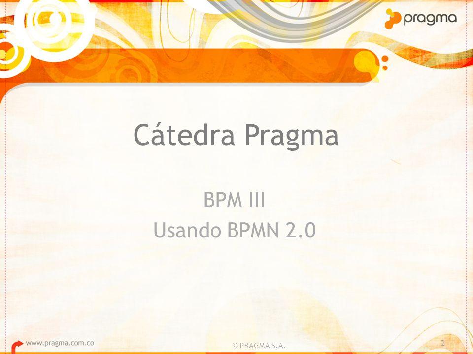 Implementación BPM © PRAGMA S.A.