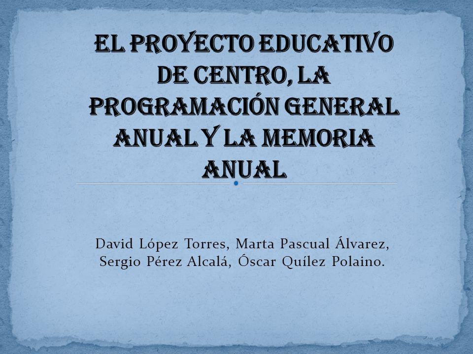 David López Torres, Marta Pascual Álvarez, Sergio Pérez Alcalá, Óscar Quílez Polaino.