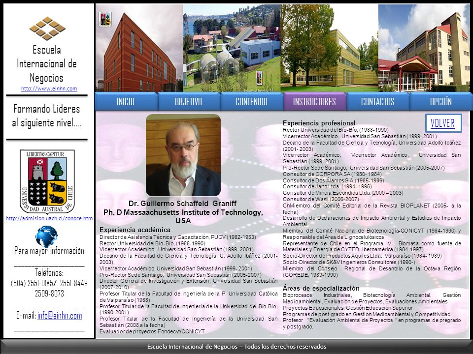 Escuela Internacional de Negocios – Todos los derechos reservados Formando Lideres al siguiente nivel…. Escuela Internacional de Negocios http://www.e