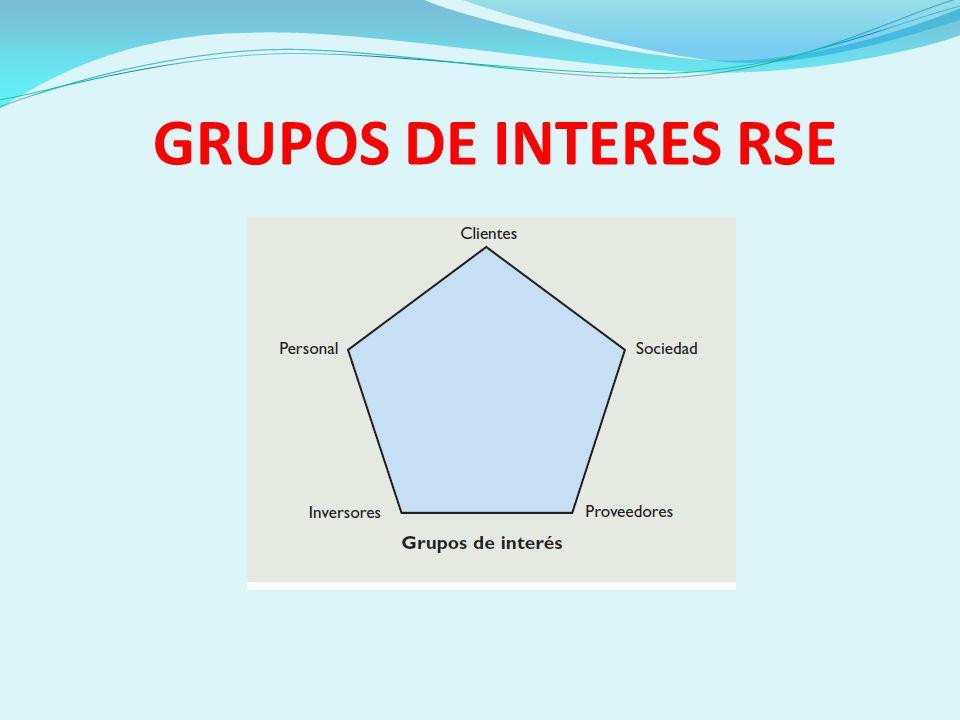 GRUPOS DE INTERES RSE