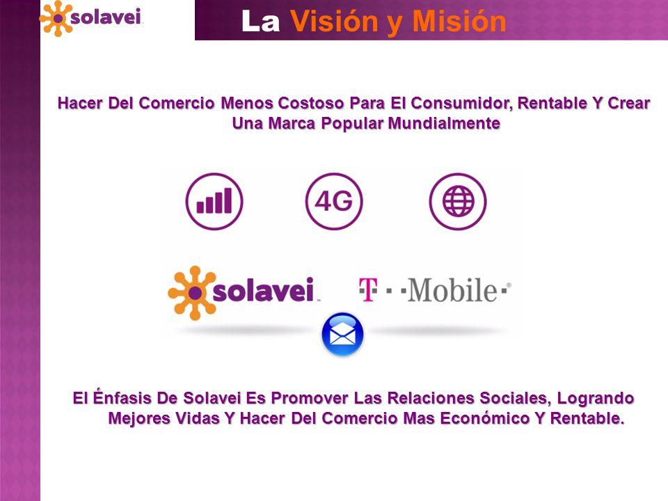 La Visión y Misión El Énfasis De Solavei Es Promover Las Relaciones Sociales, Logrando Mejores Vidas Y Hacer Del Comercio Mas Económico Y Rentable. Ha