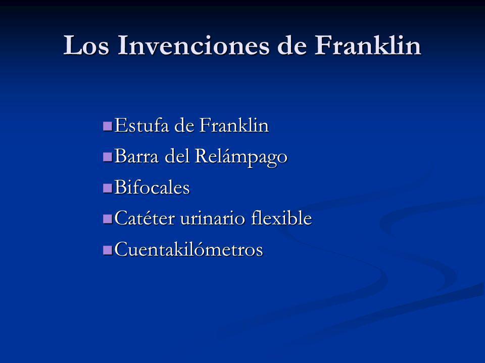 El Cuentakilómetros Como jefe de la oficina de correos, Franklin tuvo que calcular fuera de las rutas para entregar el correo.