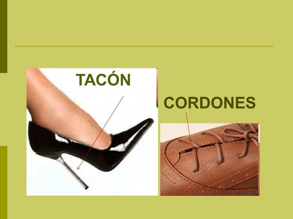 TACÓN CORDONES
