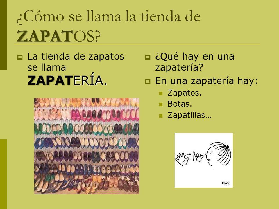 ZAPAT ¿Cómo se llama la tienda de ZAPATOS.ZAPATERÍA.
