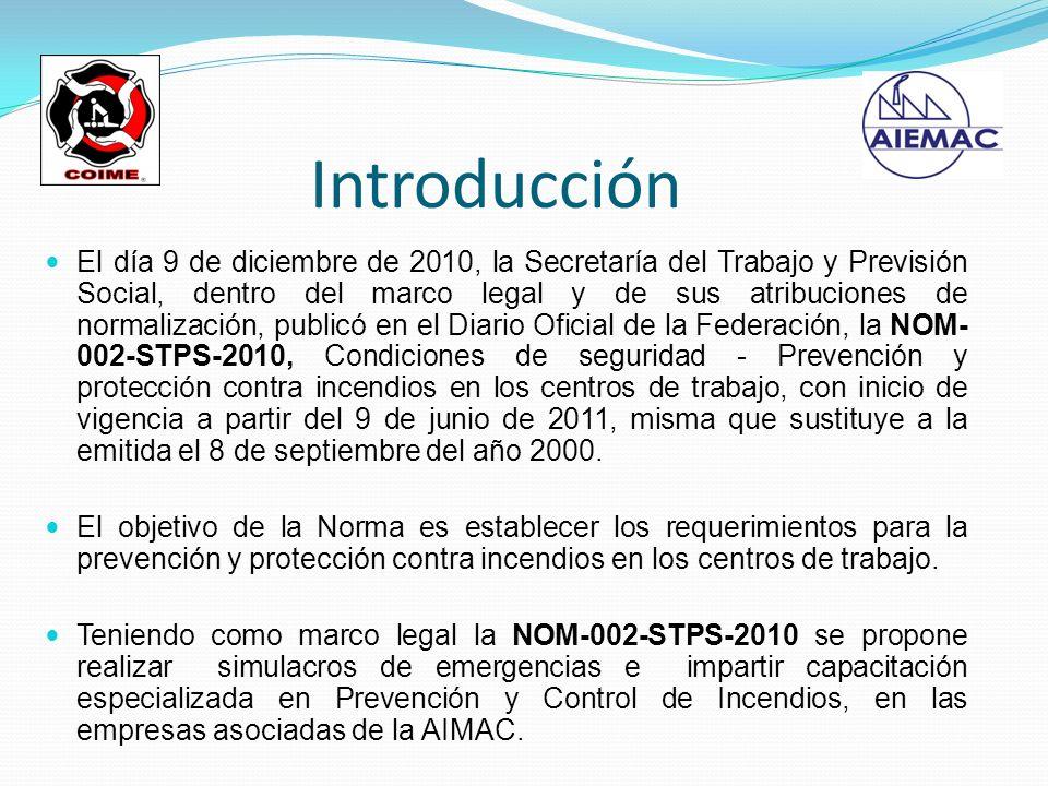 Introducción El día 9 de diciembre de 2010, la Secretaría del Trabajo y Previsión Social, dentro del marco legal y de sus atribuciones de normalizació