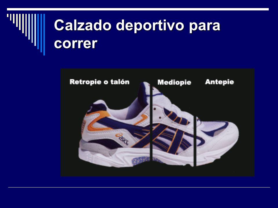 Calzado deportivo para correr