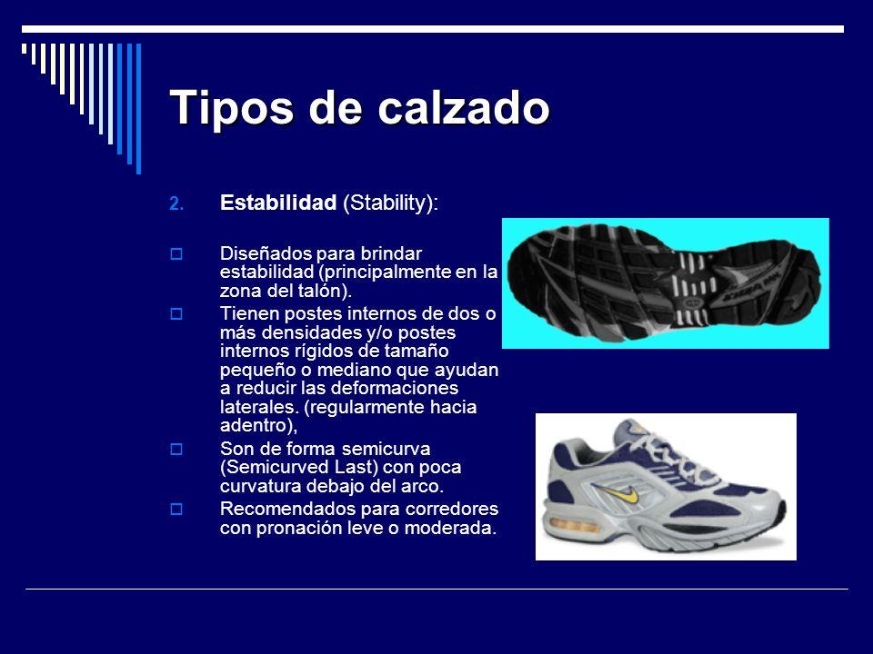 Tipos de calzado 2.
