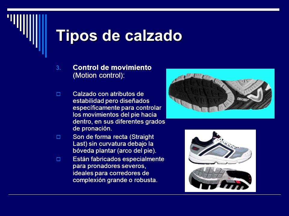 Tipos de calzado 3.