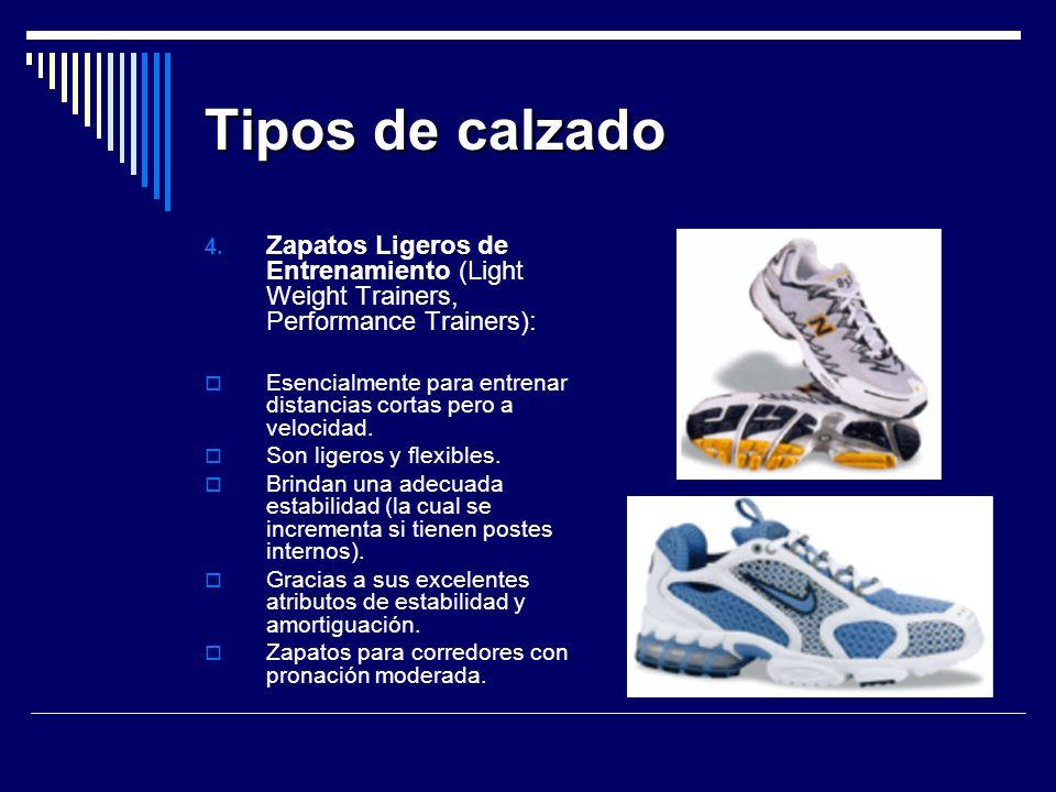 Tipos de calzado 4.