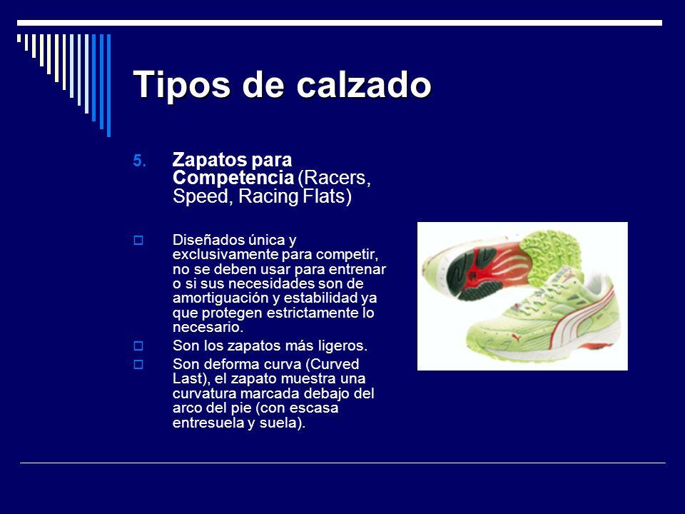 Tipos de calzado 5.