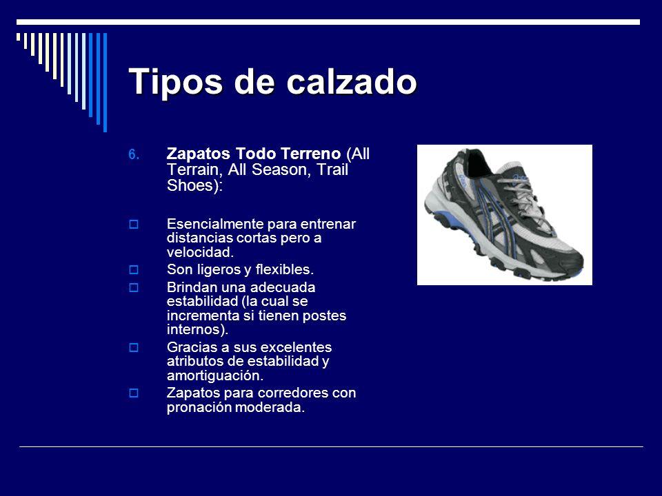 Tipos de calzado 6.