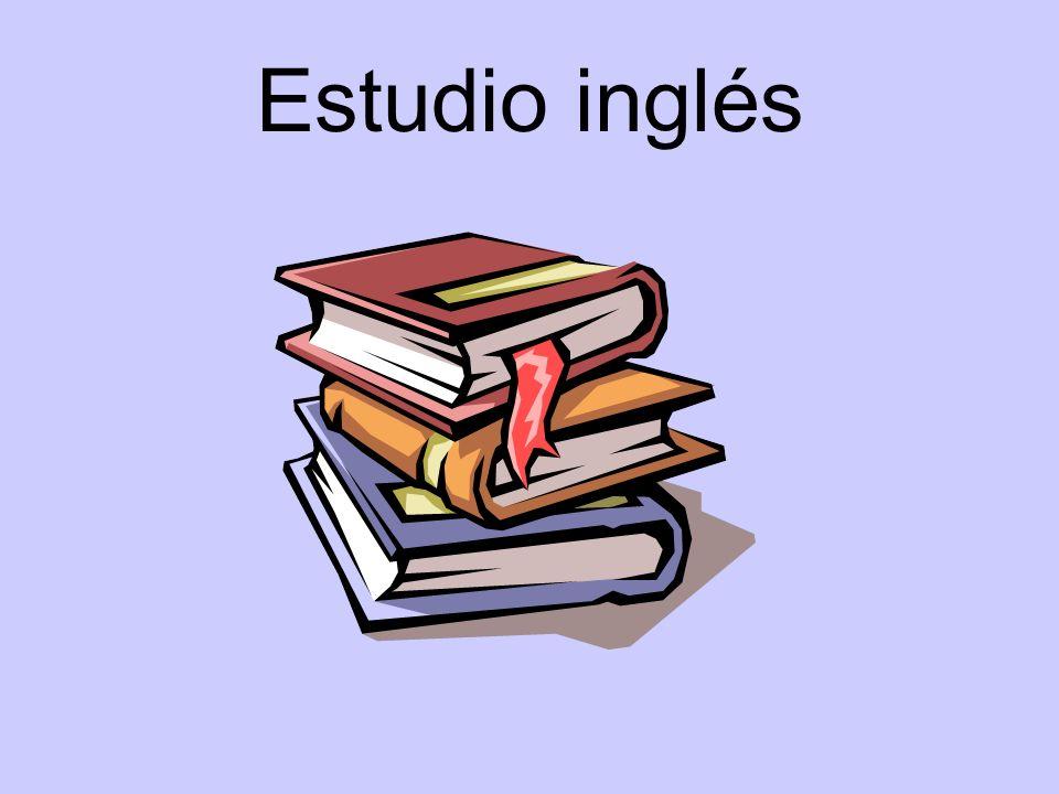 Estudio inglés