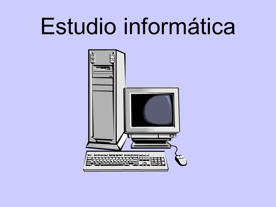 Estudio informática