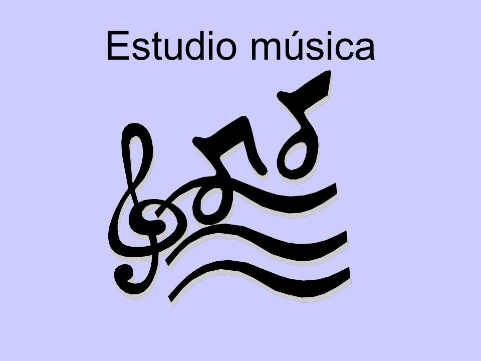 Estudio música