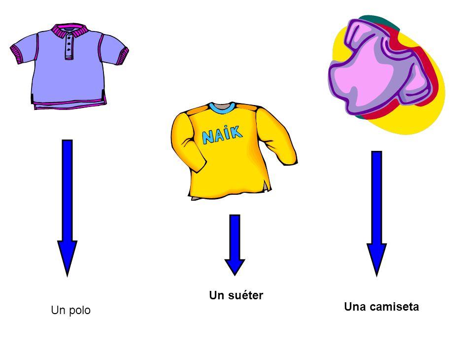 Un polo Un suéter Una camiseta