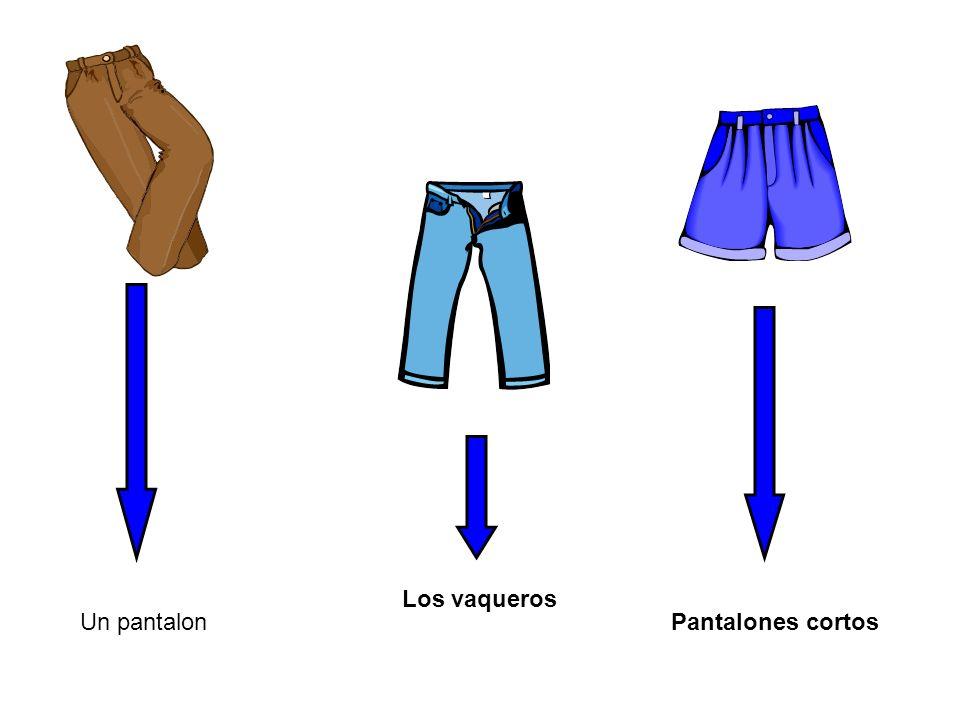 Un pantalon Los vaqueros Pantalones cortos