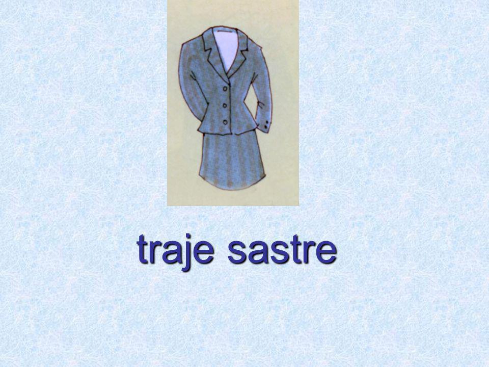 traje sastre