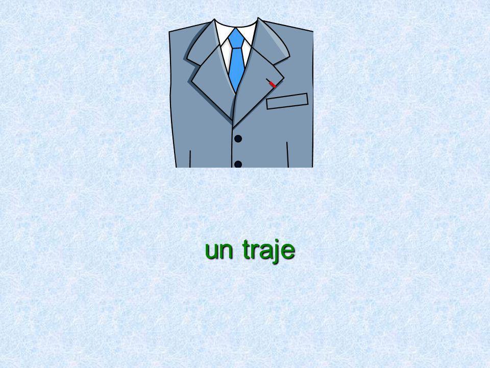 un traje un traje