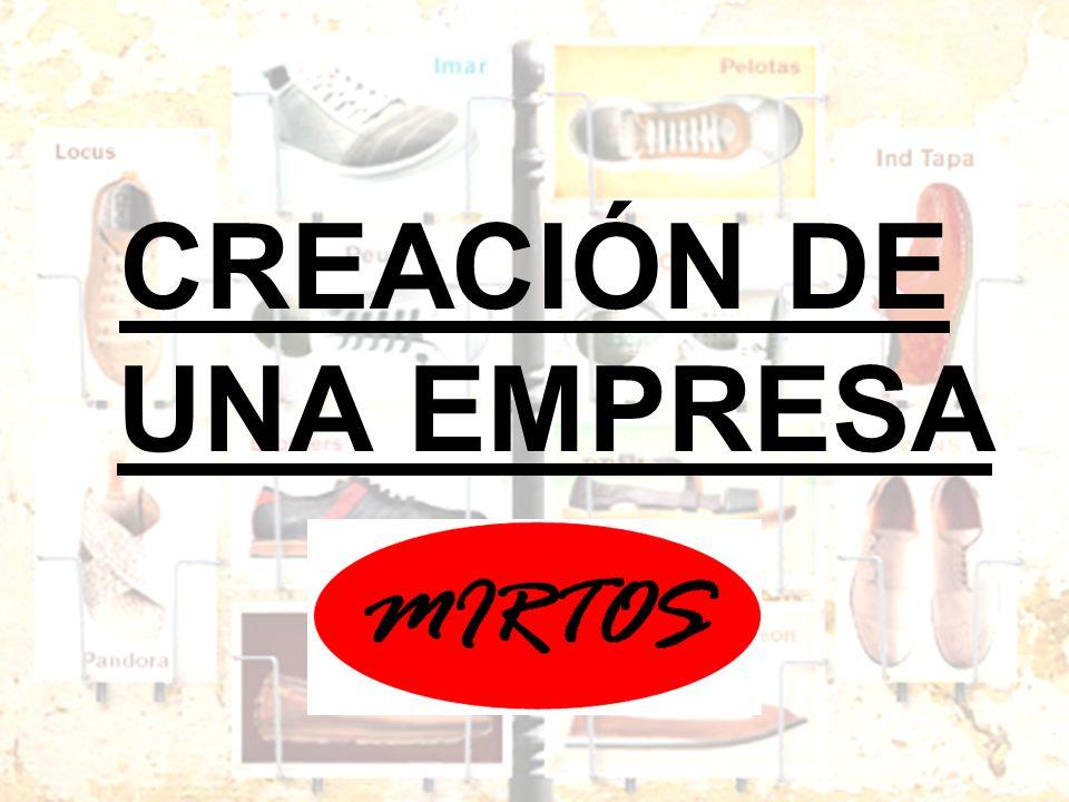 CREACIÓN DE UNA EMPRESA
