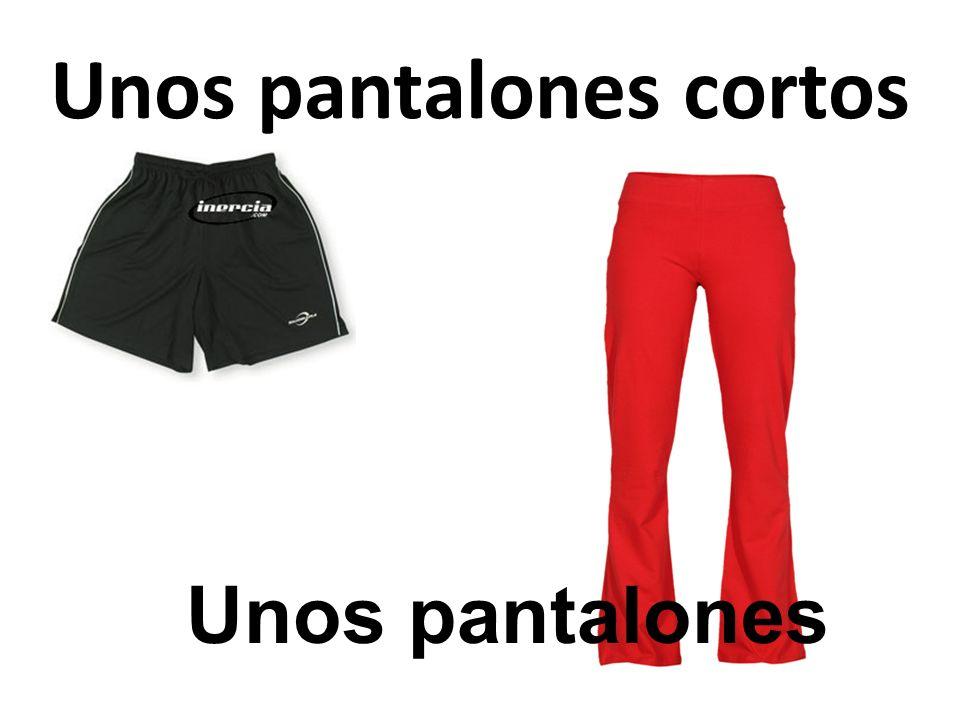 Unos pantalones cortos Unos pantalones