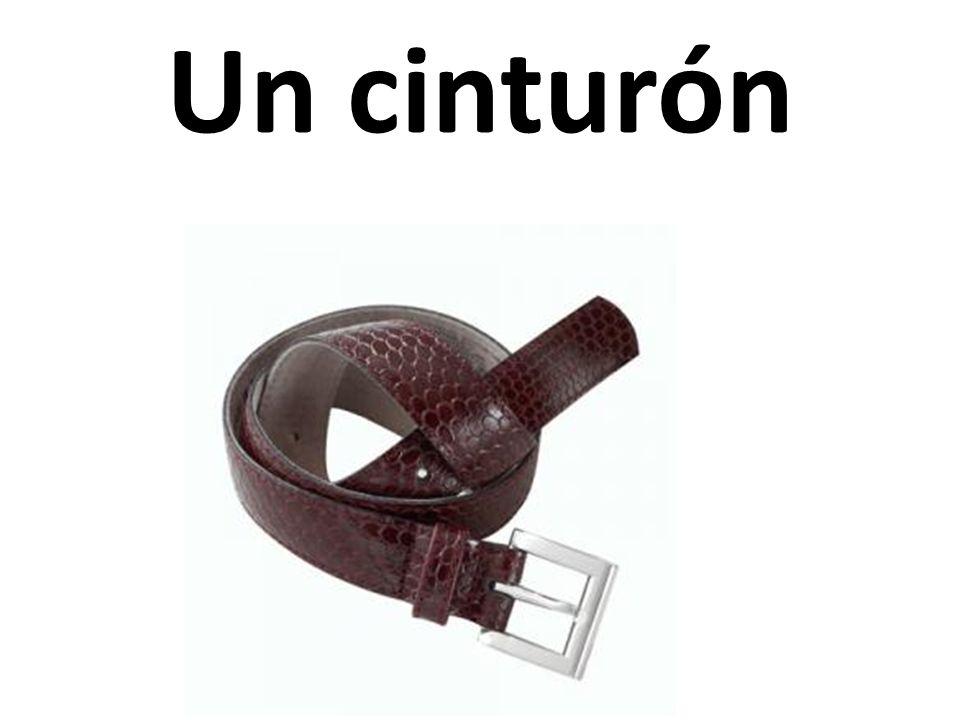 Un cinturón