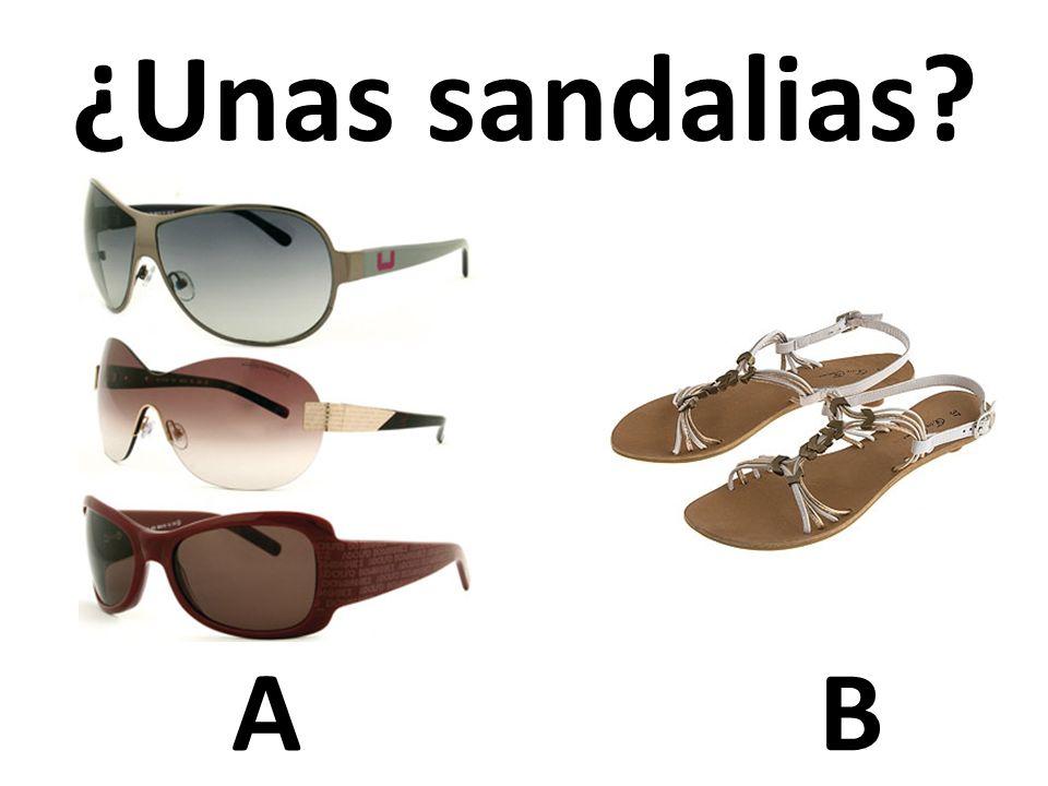 AB ¿Unas sandalias?