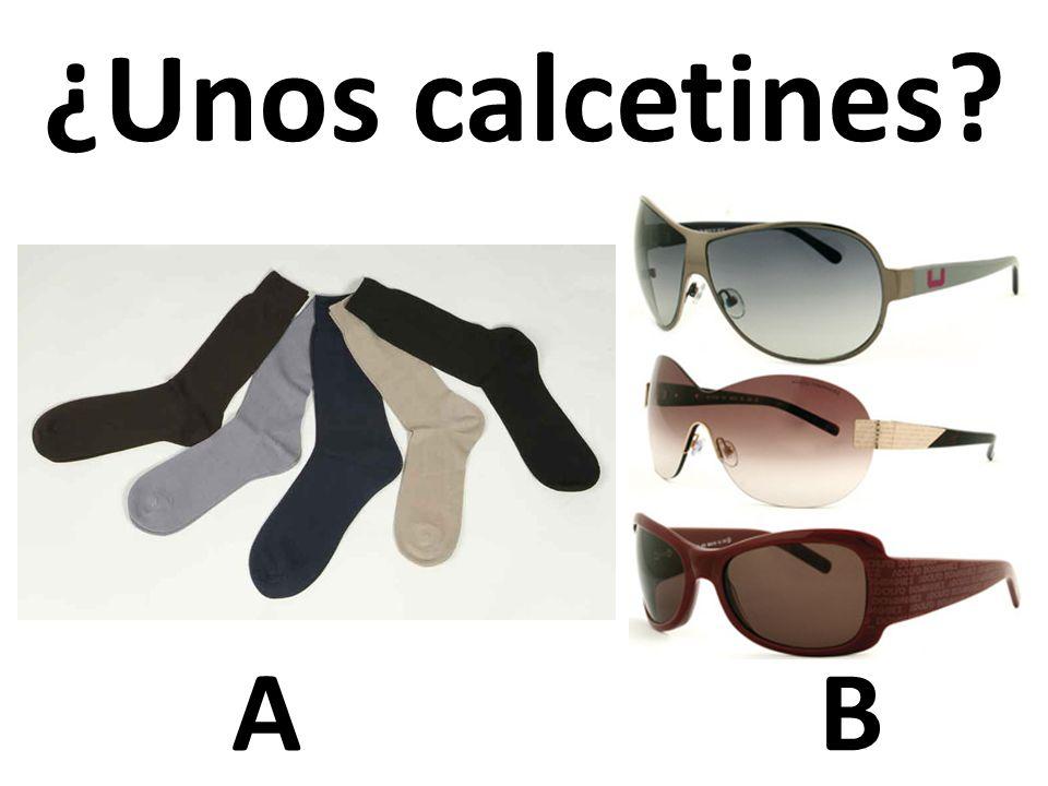 AB ¿Unos calcetines?