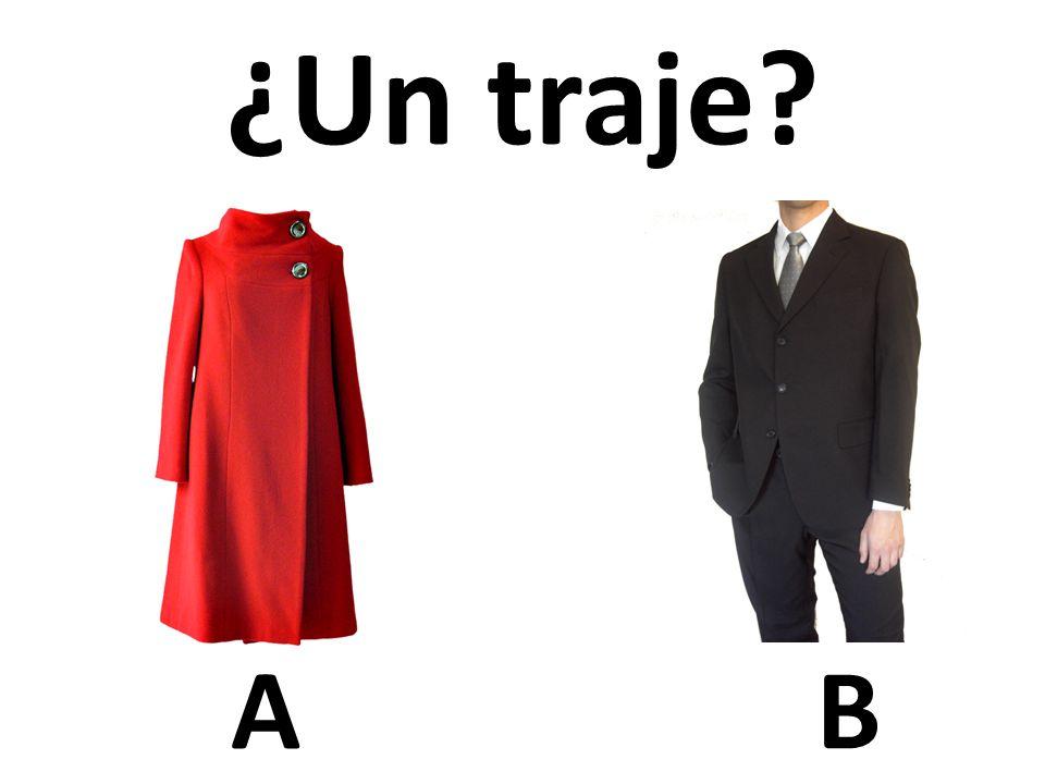 AB ¿Un traje?