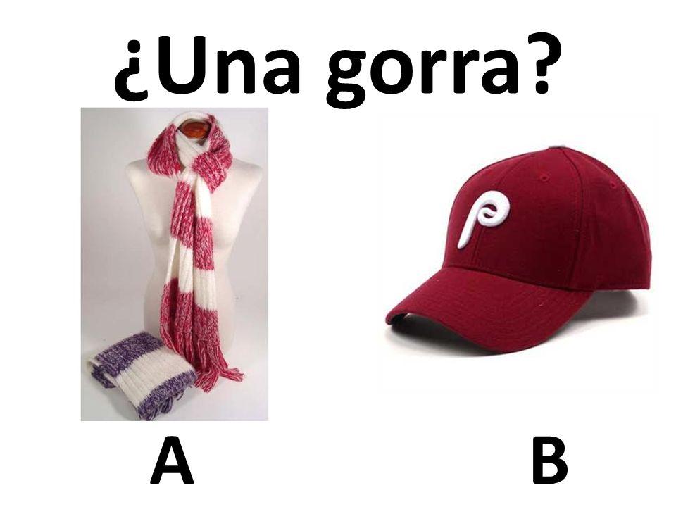 AB ¿Una gorra?