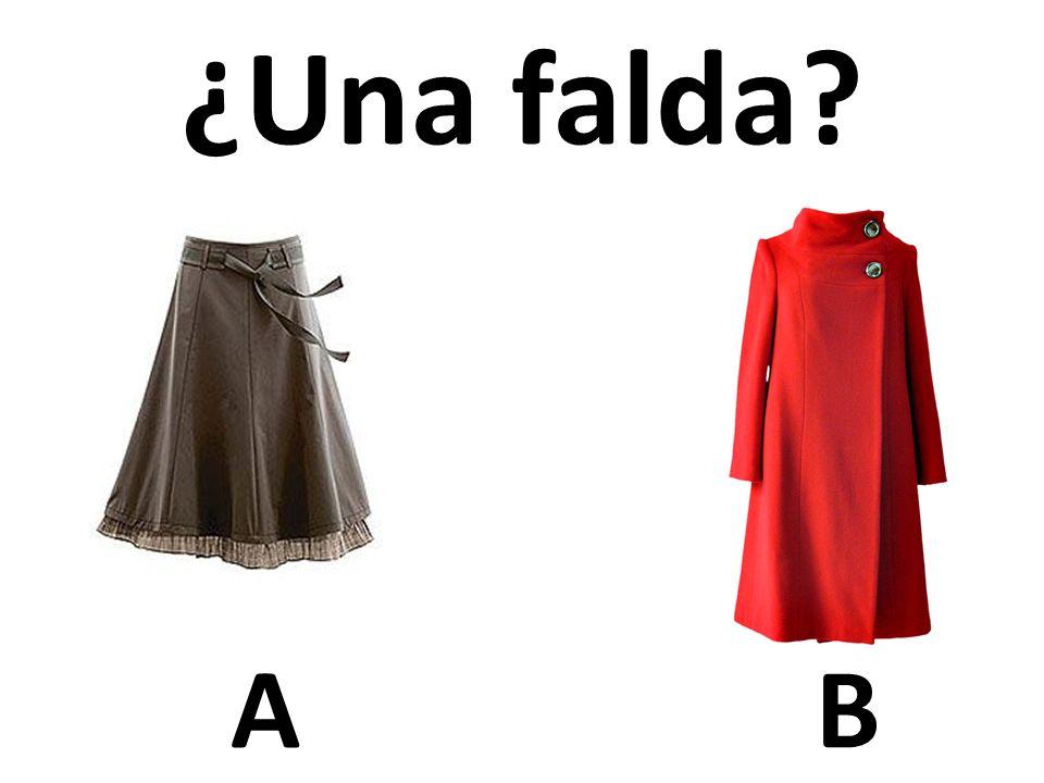 AB ¿Una falda?